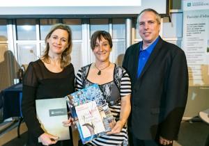 Prix remis à Chantal Leroux